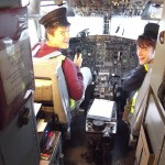On the B737 Flight Deck