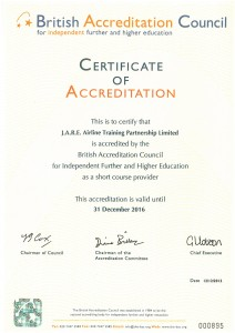 BAC Certificate of Accreditation
