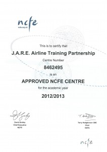 NCFE Approved Centre Certificate